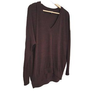 Wilfred Free Oversized Hi Low Sweater